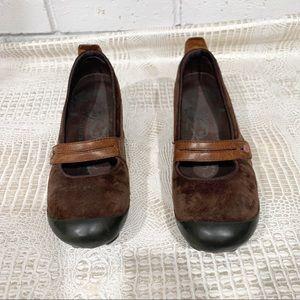 Merrell Women's Brown Plaza Bandeau MaryJane Shoes